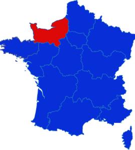 Normandie map
