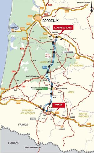 a65 route