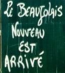beaujolais nouveau has arrived - poster