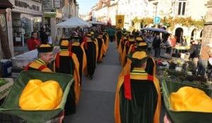 Procession at Chablis