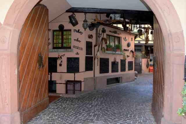 Mittelbergheim wine house