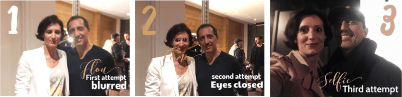 Selfies with Gad Elmaleh - FrenChicTouch