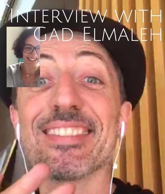Video interview with Gad Elmaleh for Frenchictouch