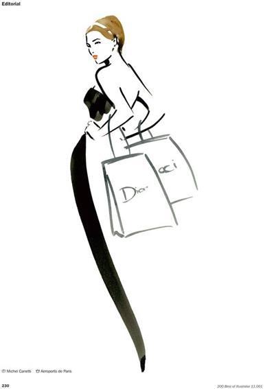 Michel Canetti - Feminine Illustration