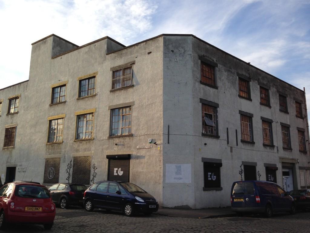 biscuit factory leith edinburgh