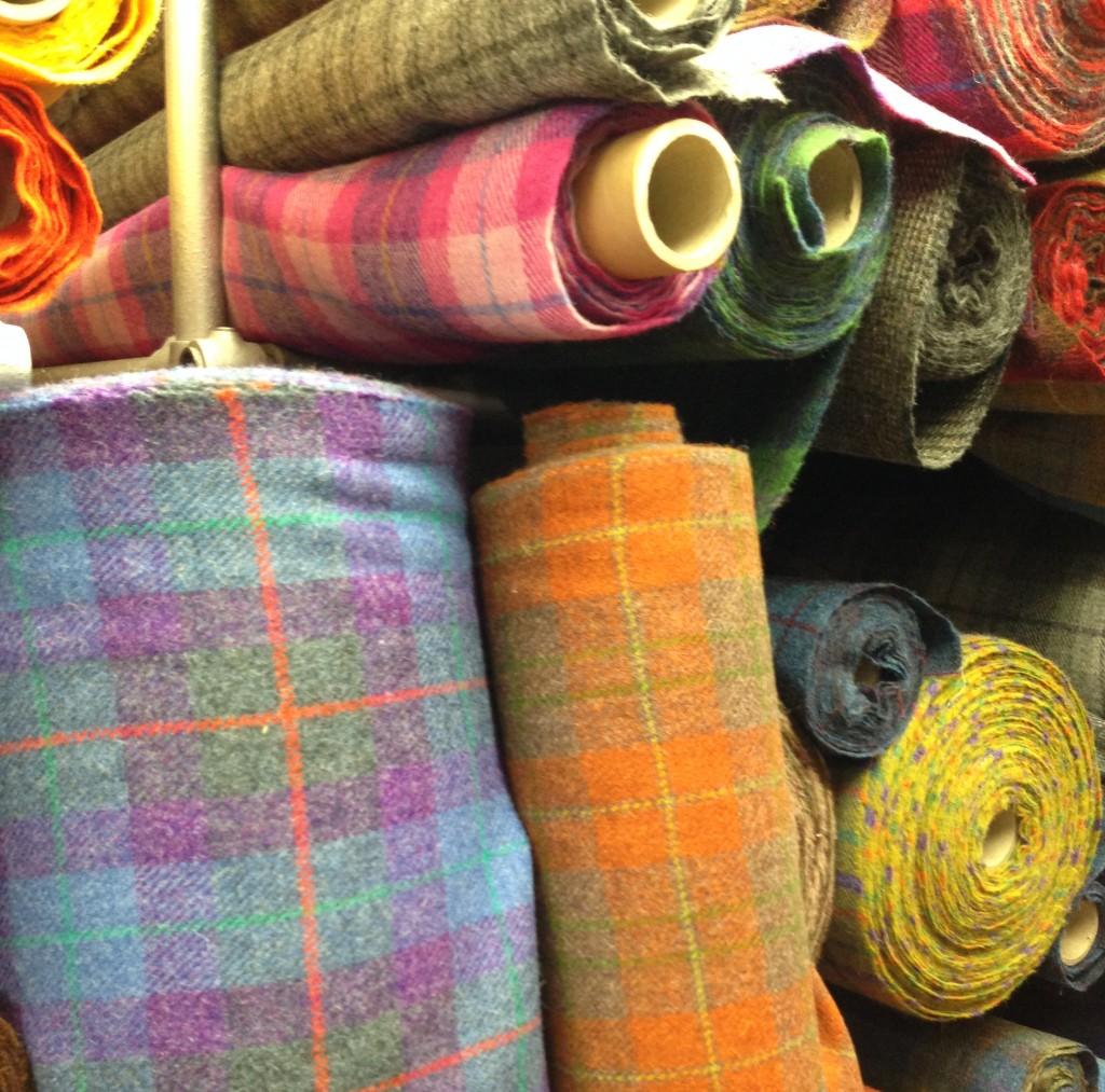 le fameux Harris Tweed