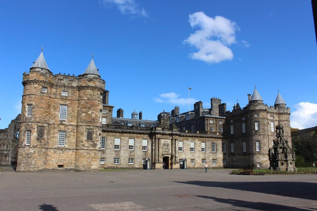 Holyrood palace edimbourg