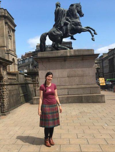 Sarah Lachhab French Guide Edinburgh