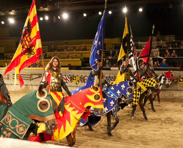 Medieval Time - les chevaliers