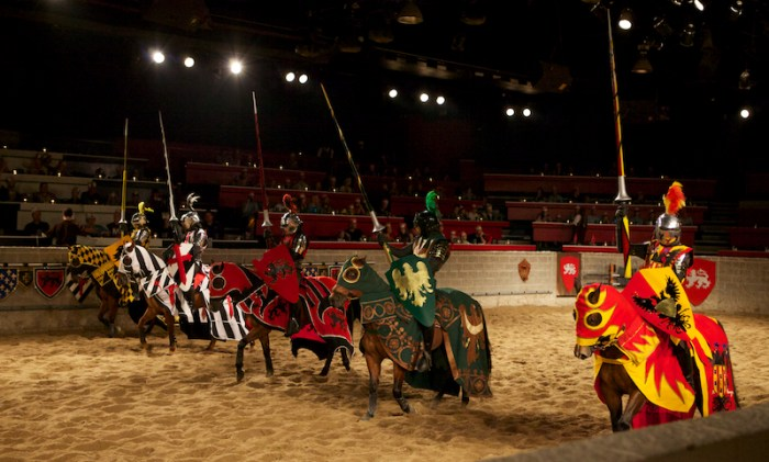 Medieval Time - The Knights