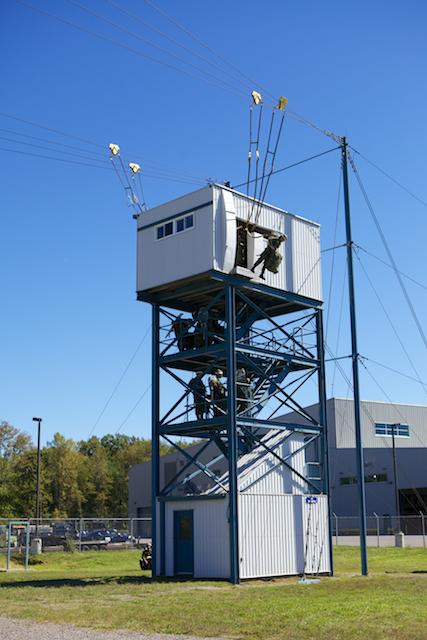 Mock tower