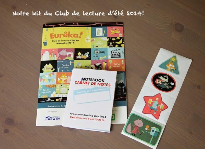 Kit club de lecture