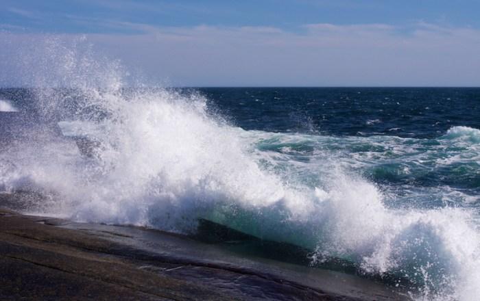 Des vagues qui ne pardonnent pas.