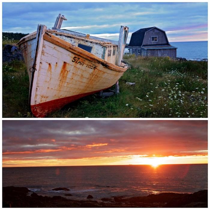 Coucher de soleil à Whale Cove