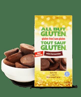 Mini brownies Tout sauf gluten