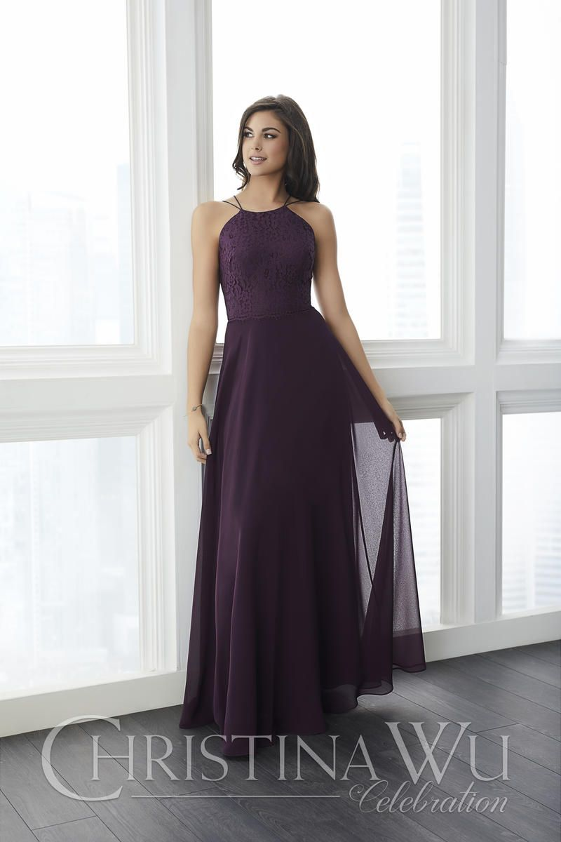 Christina Wu Celebration 22787 Feminine Bridesmaid Gown