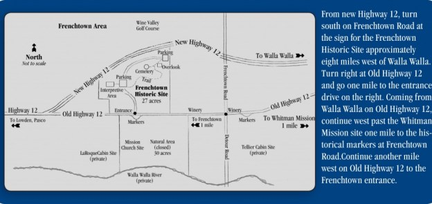 Frenchtown Area Map