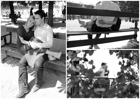 Brigitte Bardot inspired engagement shoot in Paris