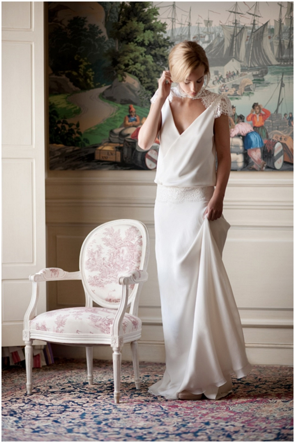 Introducing French Wedding Dress Designer Fabienne Alagama