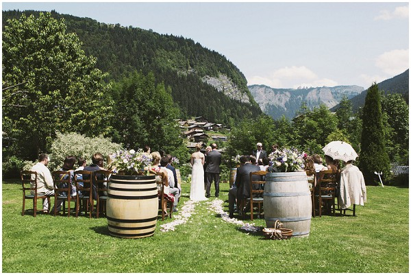 Magical Summer Garden Themed Wedding In Morzine