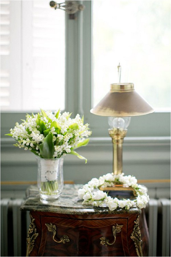Choosing your Wedding Flowers   French Wedding Style Lily of the valley wedding flowers