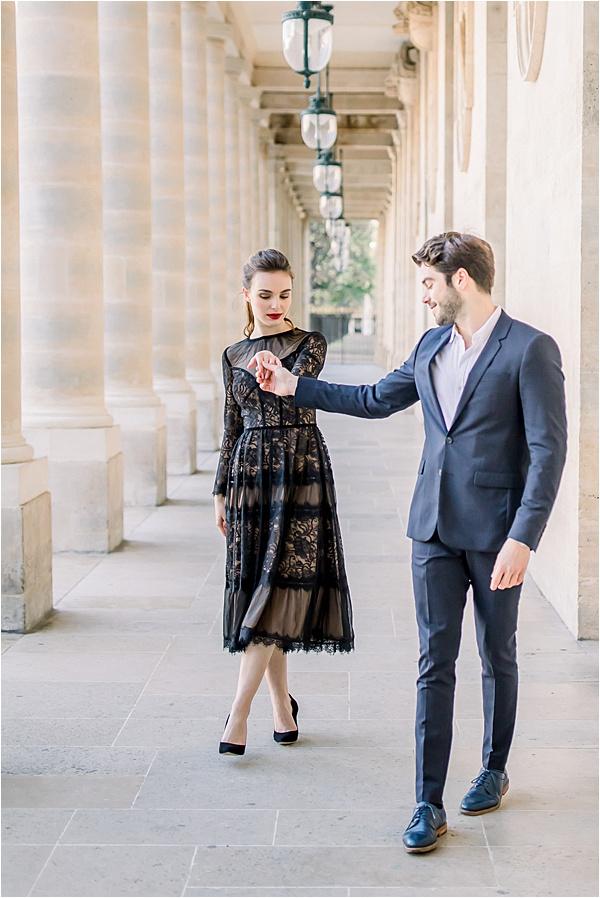 Séance photo couple parisien