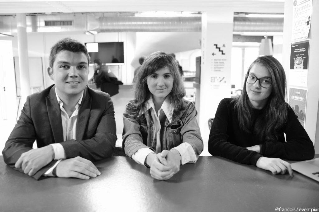 Alexandre Grandremy, Marjolaine Grondin, Lucie Pousson