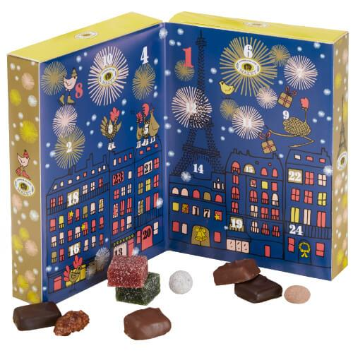 eb594d0f0a30 I say this is for children, but I always buy one for adult family members  and my home as well. Many nice chocolate shops in Paris produce advent  calendars.