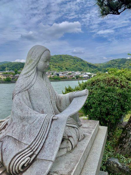 Statue de Murasaki Shikibu