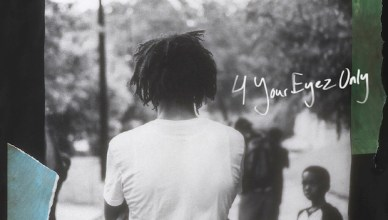 J. Cole To Release New Album '4 Your Eyez Only' Next Week (Cover)