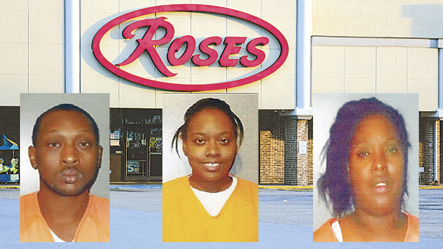 3 arrested after shots fired in discount store