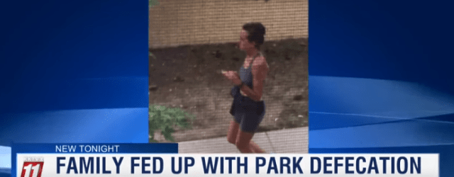"""Female Jogger Dubbed """"The Mad Pooper"""" Won't Stop Defecating In Front Of Family's Home (Video)"""