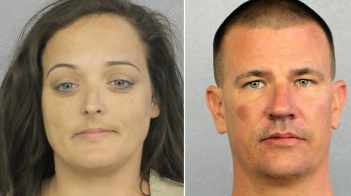 Florida Couple Busted for Stealing Mementos from Parkland Memorial