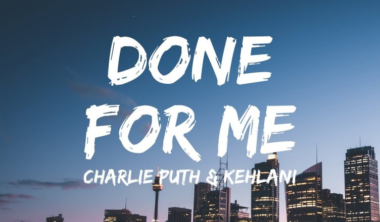 """NEW VIDEO: CHARLIE PUTH FT. KEHLANI – DONE FOR ME div class=""""embed-responsive embed-responsive-16by9 post-video single-video embed-responsive embed-responsive-16by9"""">  Kehlanigets intimate with a lady friend in the retro-inspired music video for """"Done For Me,"""" her pop collaboration withCharlie Puth. Directed by RJ Sanchez and Brendan Vaughn, the sensual visual features stylistic references to the '80s. Charlie is captured crooning devotion to his lady in front of a mirror, while Lani takes her girl into a bubble bath. VoiceNotesis due May 11. Check out the video above."""