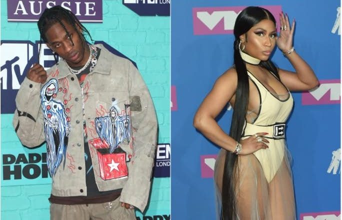 Travis Scott's 'AstroWorld' Outsells Nicki Minaj's 'Queen' For The Second Week