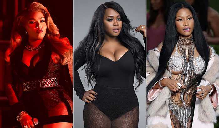 Lil' Kim Wants To End Her Beef With All The Other Female Rappers