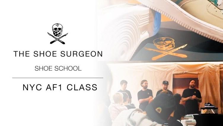 Shoe Surgeon Shoe School 'NYC AF1'