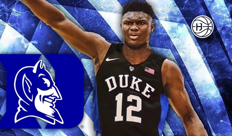Zion Williamson From Duke Vertical Defies All Logic!