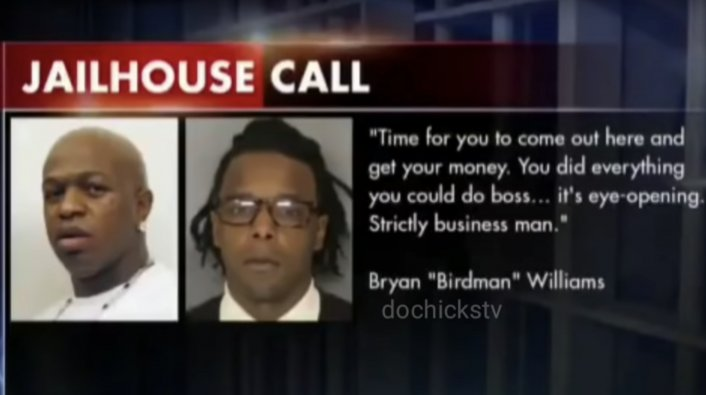 Prison Phone Call With Lil Wayne Bus Shooter & Birdman Surfaces