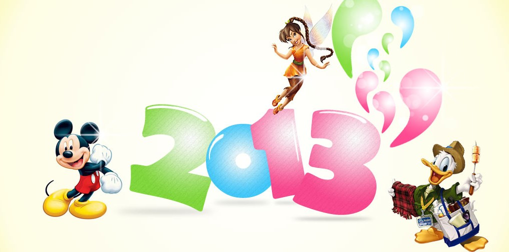 we here at fresh baked disney wanted to take a minute to wish everyone a happy new year