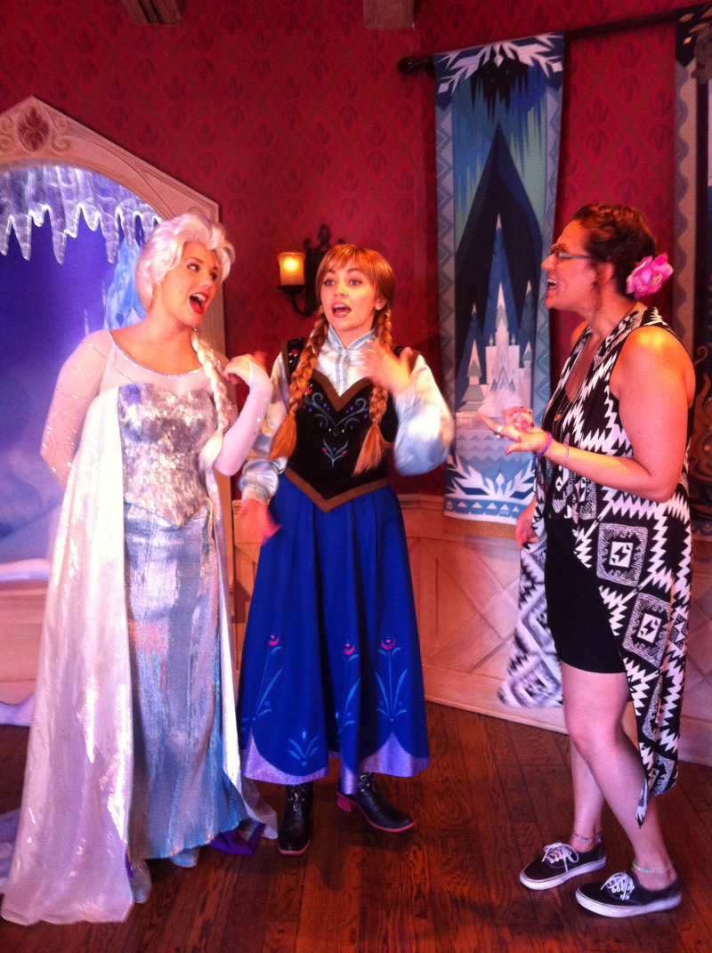 Ghostly Materials Exhibit Plus Anna Elsa And The Genie