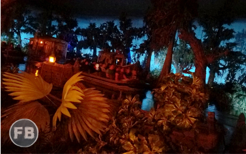 Blue Bayou Fruits Pirates View