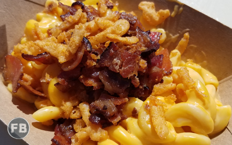 Food and Wine Festival - Bacon Mac and Cheese