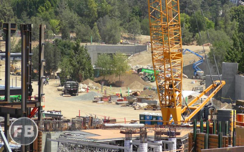 Star Wars Land Construction - 2017/04/22