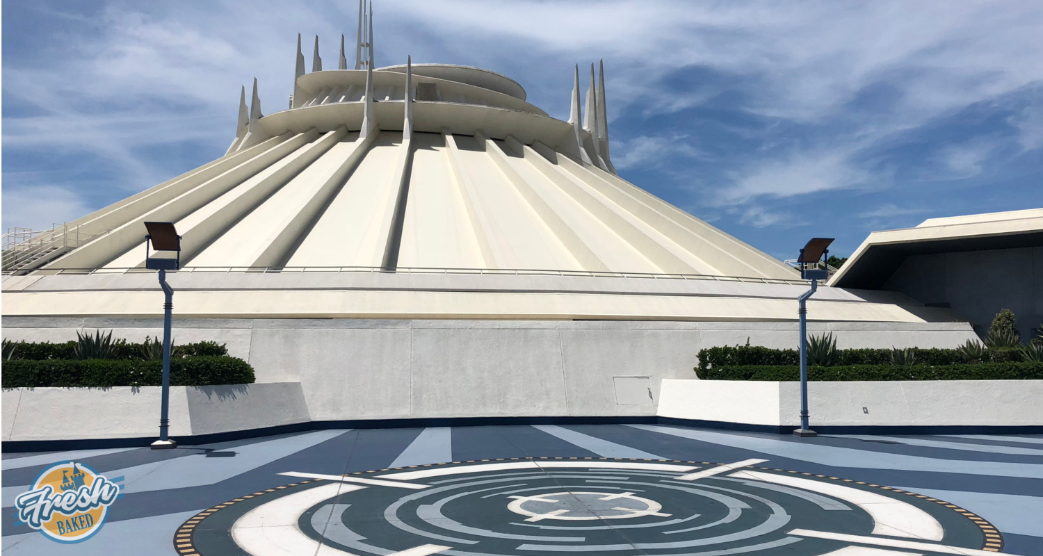ALL NEW Space Mountain queue unveiled at Disneyland [Photos and ...