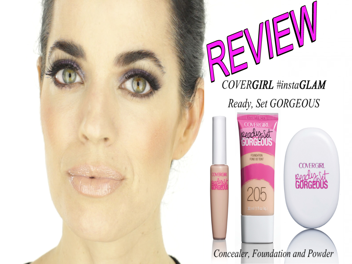 Ready, Set Gorgeous! Cover Girl Review