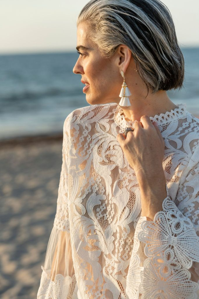 Something's Gotta Give + Lace Tops for Summer
