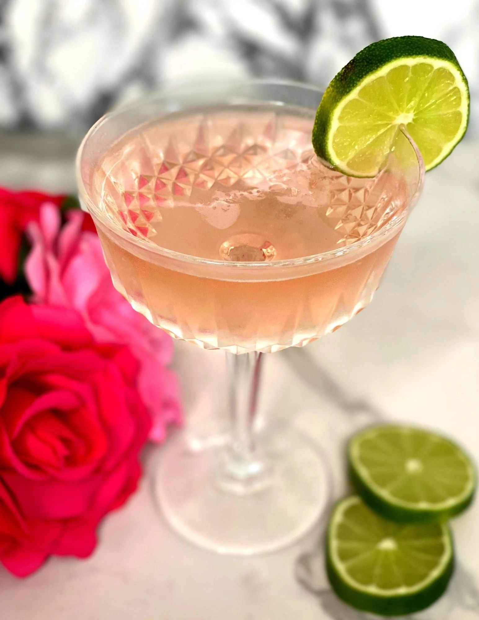 How To Make a Rose Gimlet