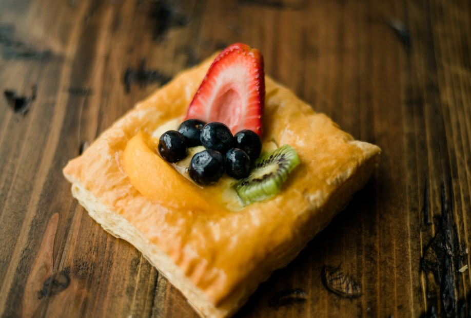 Mixed Fruit Puff Pastry