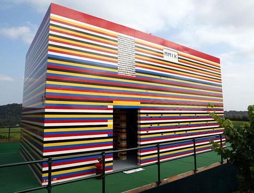 Das Lego Haus von James May - leider bereits Geschichte ...